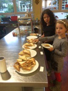 Lecker- heute gibt es Sandwich-Toasts!